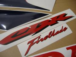 Honda CBR 1000RR 2007 SC57 HRC decals kit