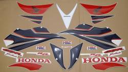 Honda 1000RR 2007 Fireblade HRC graphics set