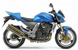 Kawasaki Z1000 2005 blue decals kit