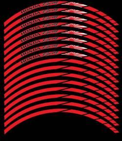 wheel rim stripes decals stickers honda cbr rr hrc racing