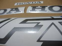 Honda 750F 1990 Interceptor white logo graphics