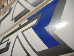 Honda VFR 750F 1990 white adhesives set