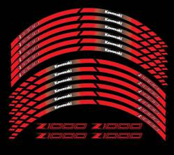 wheel rim stripes decals stickers kawasaki ninja zxr racing zx9r zx7r z1000