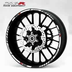 wheel rim stripes decals stickers kawasaki ninja zxr racing zx9r zx7r