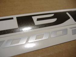 Honda CBR 1000RR 2009 SC59 white decals kit