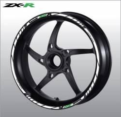 wheel rim stripes decals stickers kawasaki ninja zx6r zx10r zx12r zxr