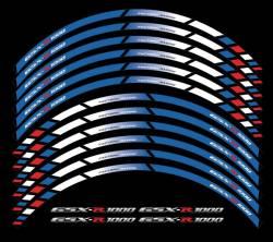 wheel rim stripes decals stickers suzuki gsxr 600 750 1000 racing hayabusa