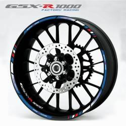 wheel rim stripes decals stickers suzuki gsxr 1000 racing hayabusa