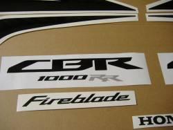 Honda CBR 1000RR 2008 Fireblade stickers kit