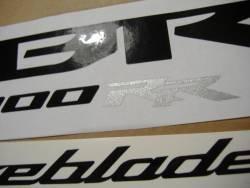 Honda CBR 1000RR 2008 SC59 red stickers