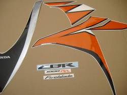 Honda CBR 1000RR 2010 Fireblade stickers kit