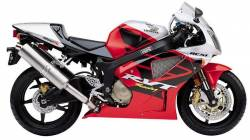 Honda RVT  1000R 2003 RC51 red decals kit