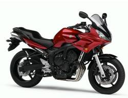 Yamaha FZ6 2006 red complete sticker kit