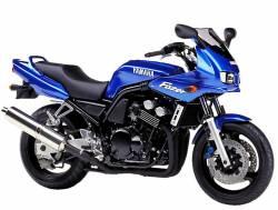 Yamaha FZS 600 2001 Fazer blue decals