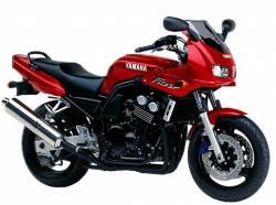 Yamaha FZS 1999 Fazer red logo graphics