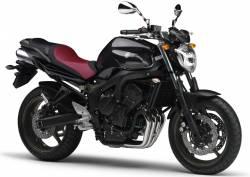 Yamaha FZ6 2009 black decals