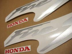 Honda VTR 1000F 1999 blue adhesives set