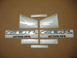 Honda CBR 250R 2013 red decals