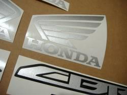 Honda 250R 2013 red full decals kit