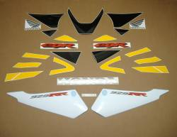 Honda 929RR 2000 SC44 yellow stickers set