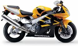 Honda 929RR 2000 yellow complete sticker kit