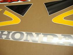 Honda CBR 929RR 2000 yellow stickers kit
