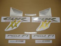 Honda 1100XX 2000 SC35 complete sticker kit