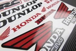 Decals kit Honda Dunlop renthal belray hrc