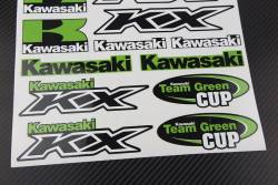 Decals set Kawasaki Ninja kx