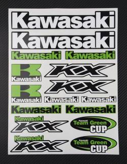 Pegatinas conjunto Kawasaki Ninja kx