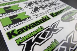 Stickers set Kawasaki Ninja kx