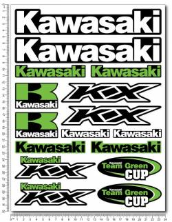 Stickers kit Kawasaki Ninja kx