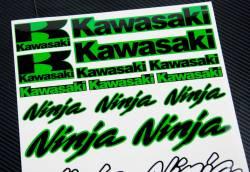 Pegatinas conjunto Kawasaki Ninja