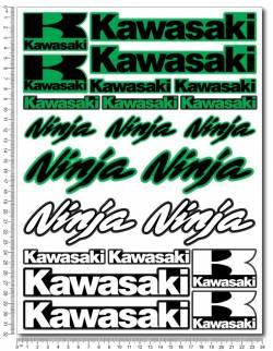 Stickers set Kawasaki Ninja