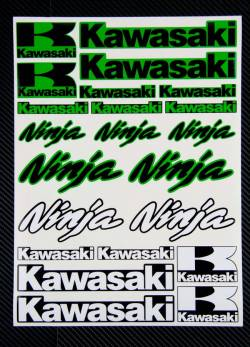 Decals set Kawasaki Ninja