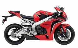 Honda 1000RR 2011 Fireblade red labels graphics