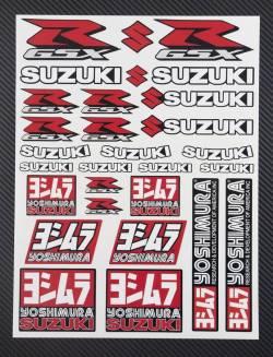 Decals set Suzuki Yoshimura gsx-r