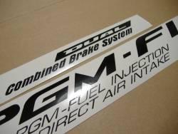 Honda CBR 1100XX 2004 SC35 silver logo graphics