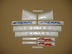 Honda 600RR 2003 blue logo graphics
