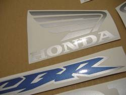Honda 600RR 2003 blue complete sticker kit