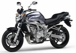 Yamaha FZ6 2004 grey labels graphics