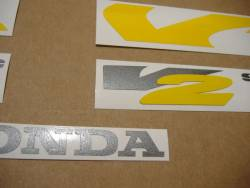 Honda VTR 1000F 1997 black labels graphics