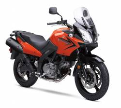 Suzuki DL 650 K9 V-strom orange full decals kit