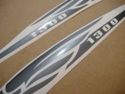 Honda vtx 1300 graphite gray gas tank decals stickers