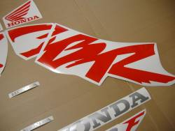 Honda 600 F4 2000 black stickers set