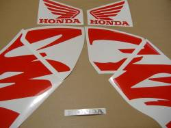 Honda 600 F4 2000 black full decals kit