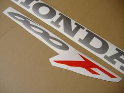 Honda CBR 600 F4 2000 black logo graphics