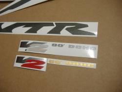 Honda vtr 1000f 1998 Firestorm red stickers set