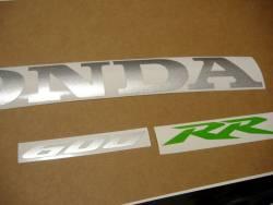 Honda 600RR 2007 custom stickers set