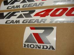 Honda VFR 400K 1992 NC21 white decals kit